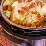 Jamaican Cabbage In The Pressure Cooker