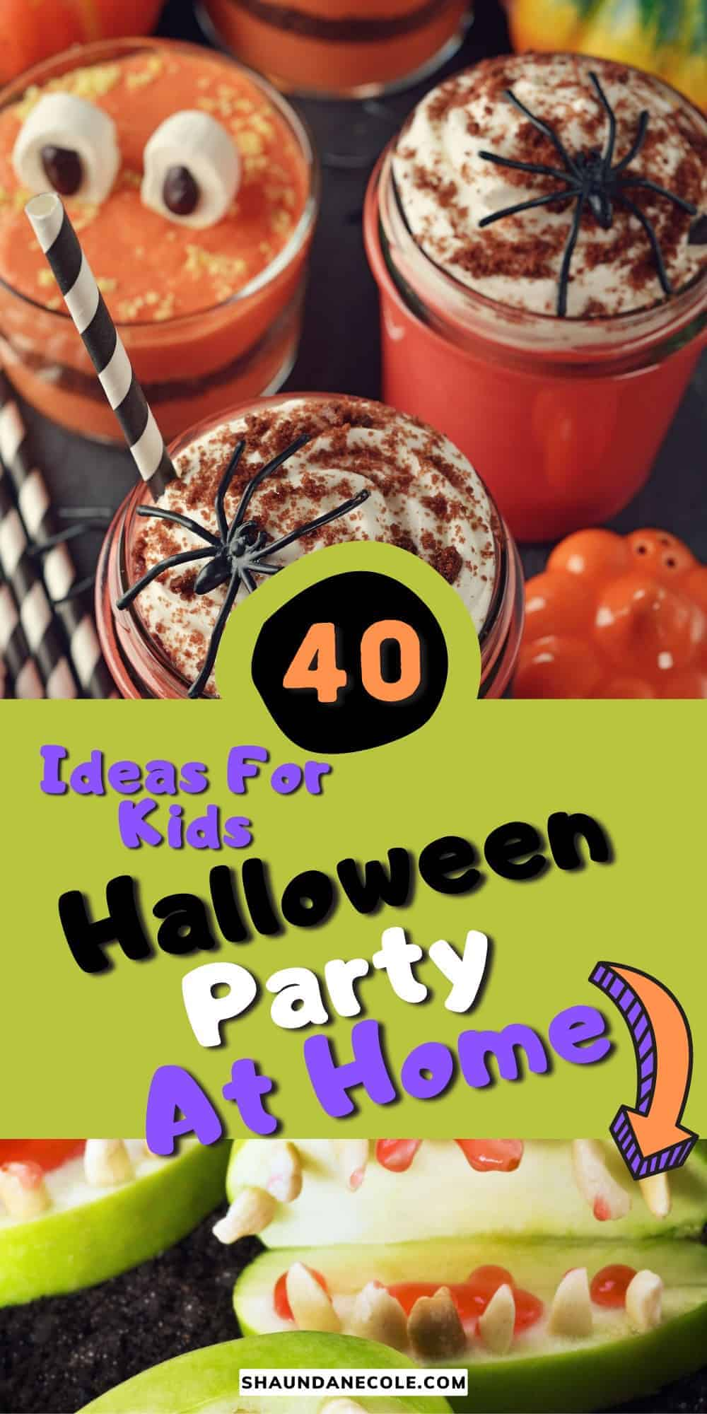 Holidays 40 Halloween Party At Home Ideas For Kids, Easy DIY Halloween Treats, Food Ideas For Dinner