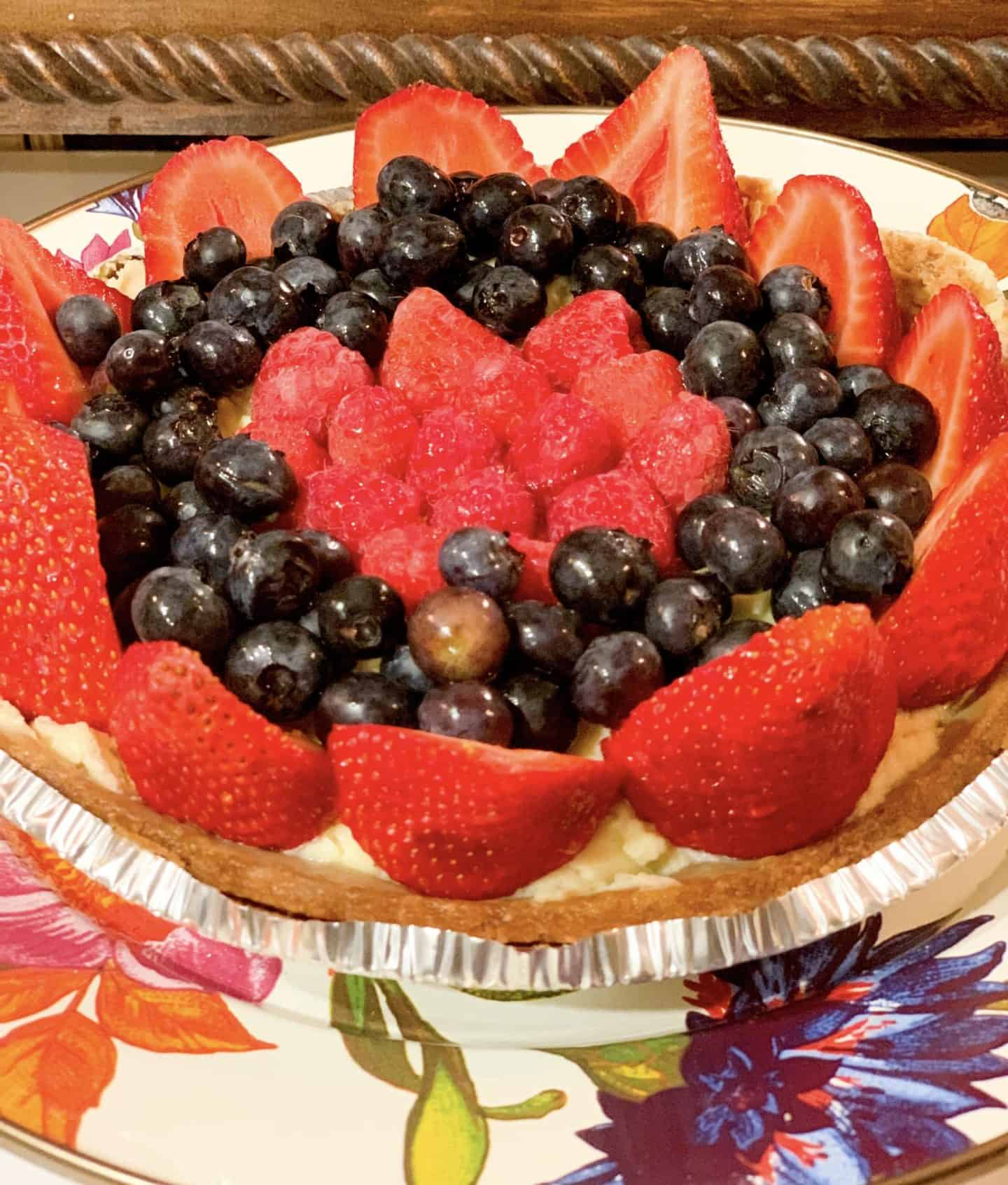 Instant Pot Cheesecake With Fruit Topping