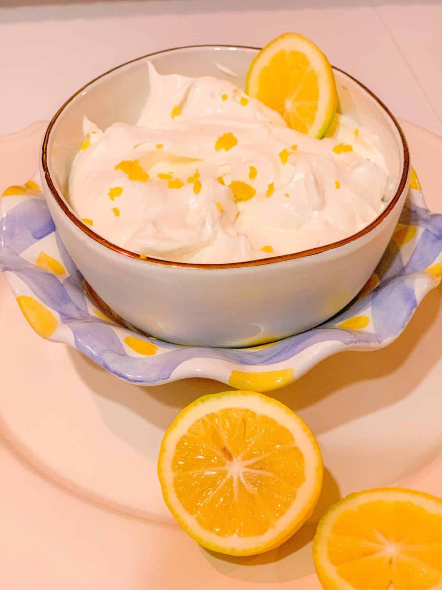 Best Lemon Fruit Dip Lemon Zest Fruit Dip