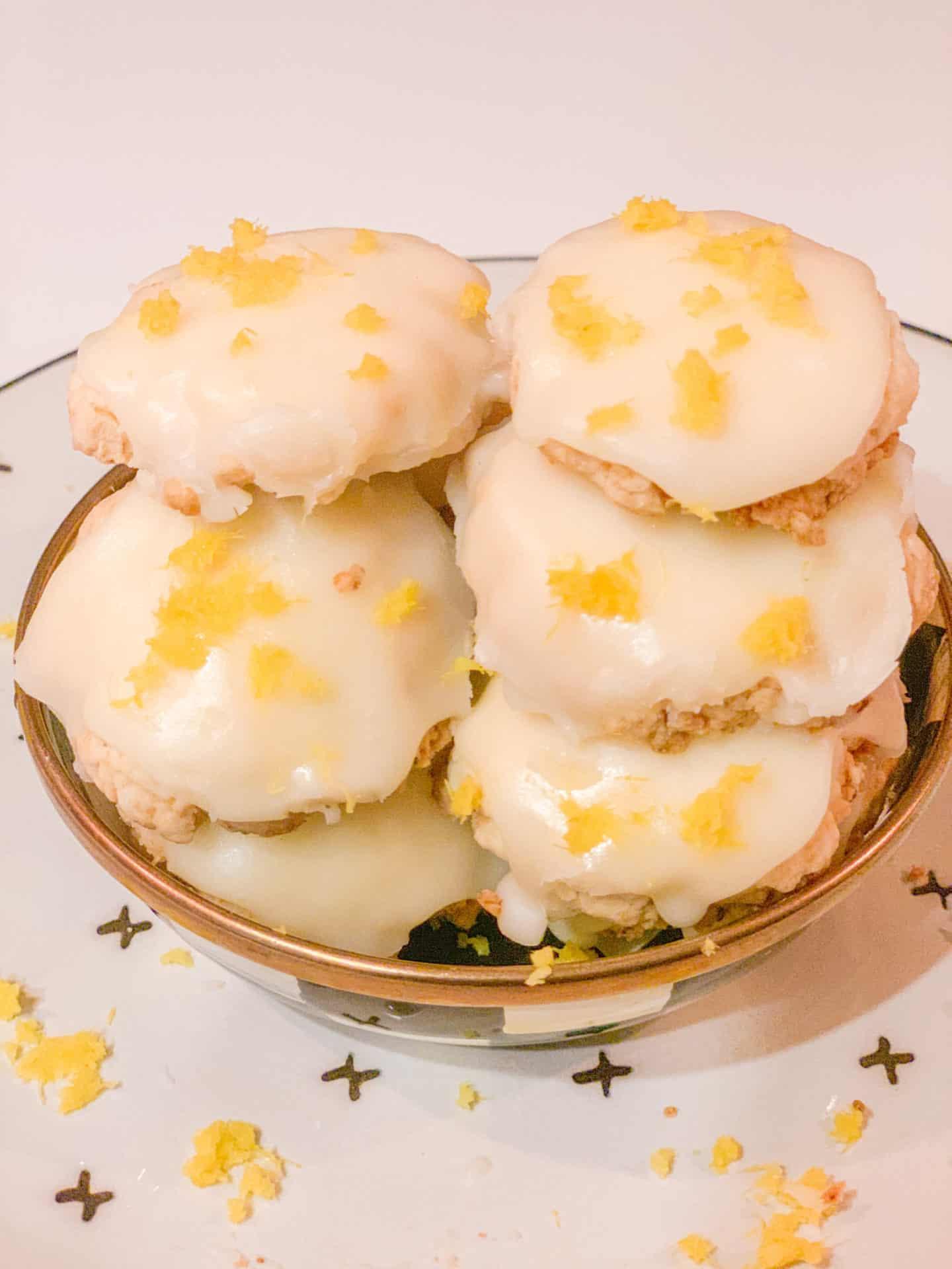 Lemon Zest Lemon Meltaway Cookies Recipe