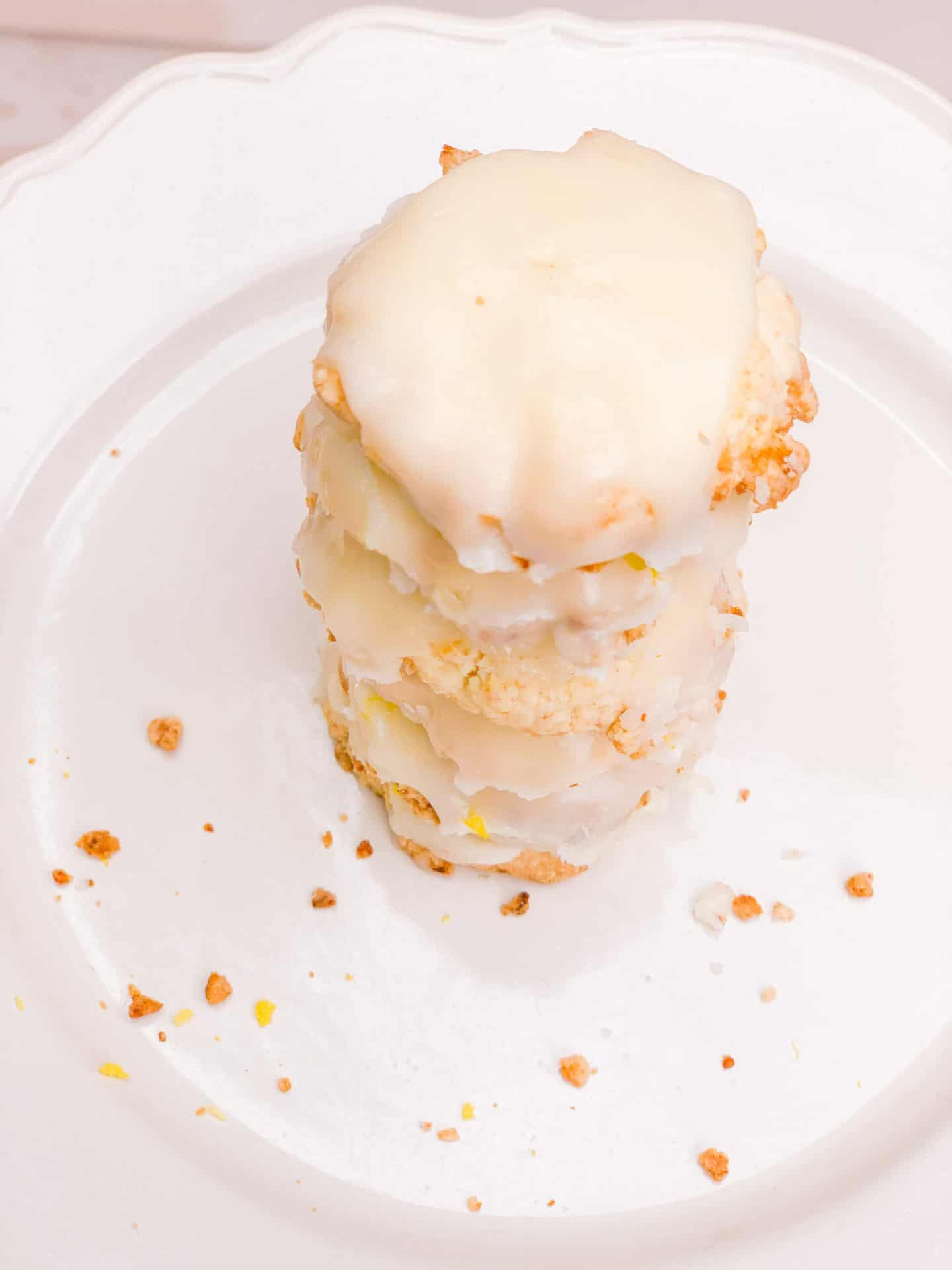 Icing & Glazed Lemon Meltaway Cookies