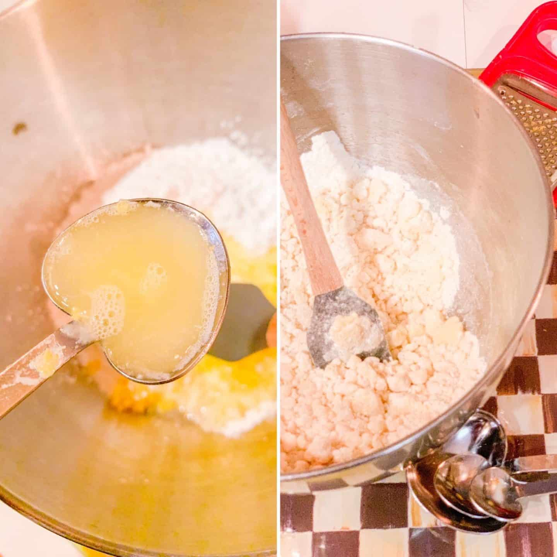Lemon Meltaways Ingredients Fresh Lemon Juice