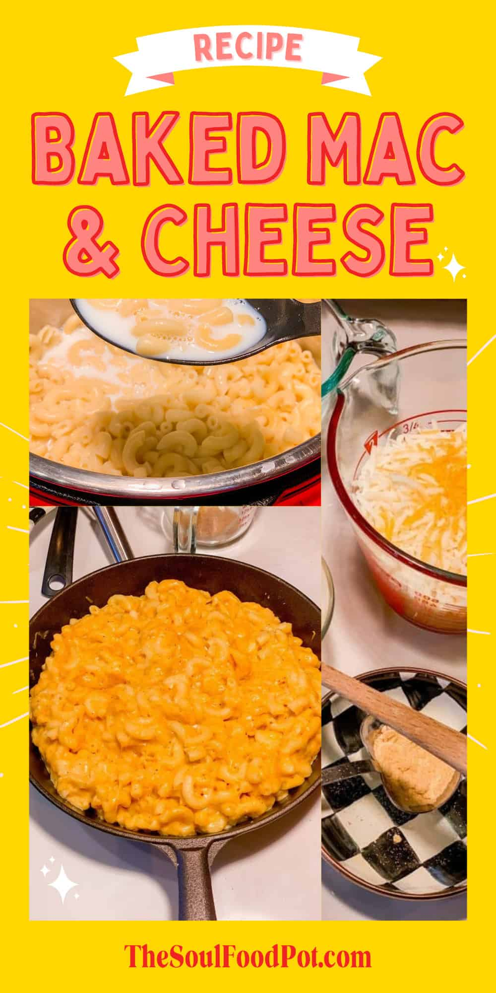 Baked Mac and Cheese Recipe - The Soul Food Pot