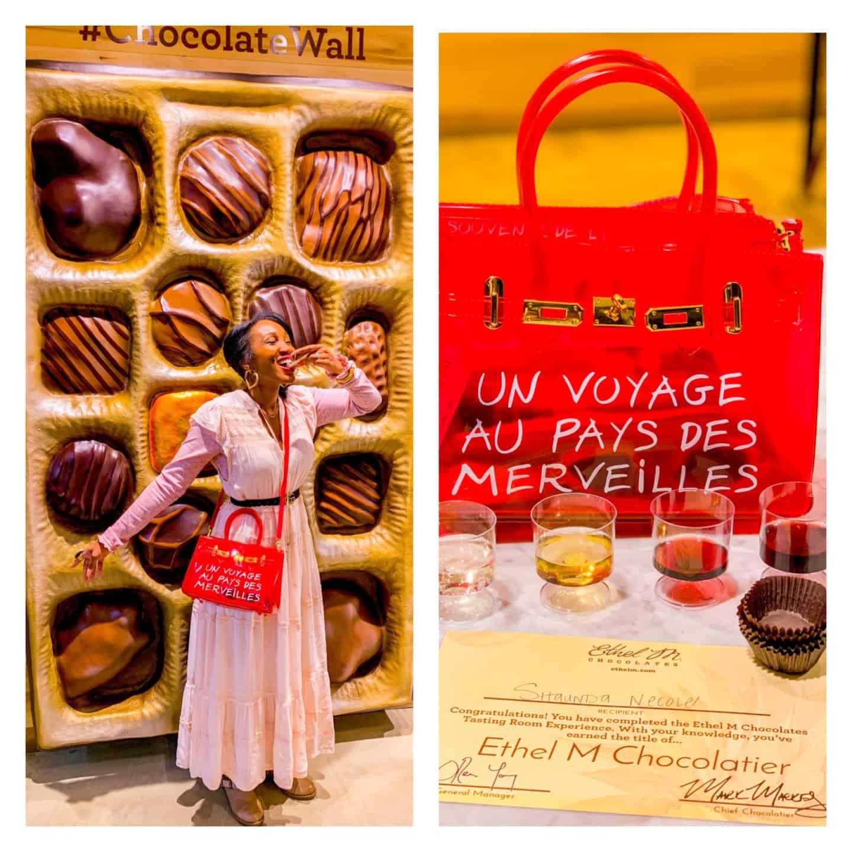 Shaunda Necole Brand Partnerships- Ethel M Chocolate Factory Live Event
