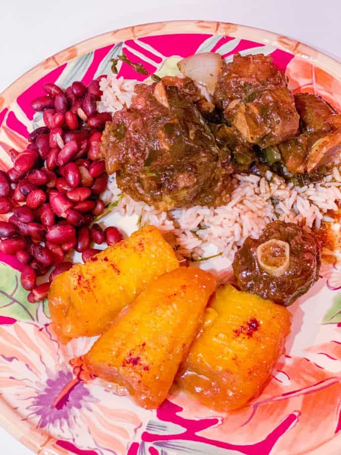 Authentic Jamaican Oxtail Recipe
