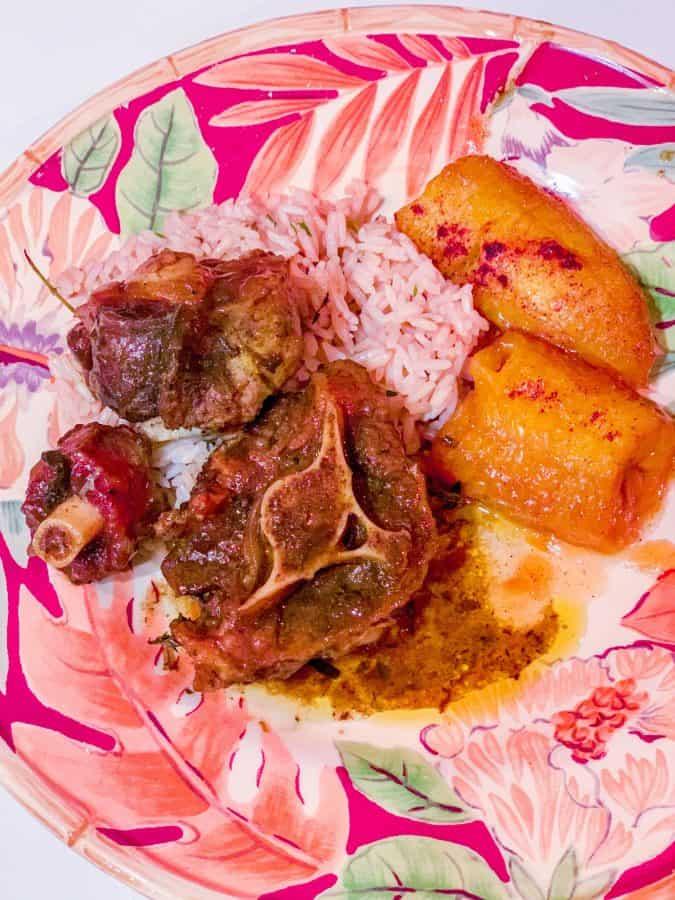 Jamaican Oxtail Instant Pot Recipe