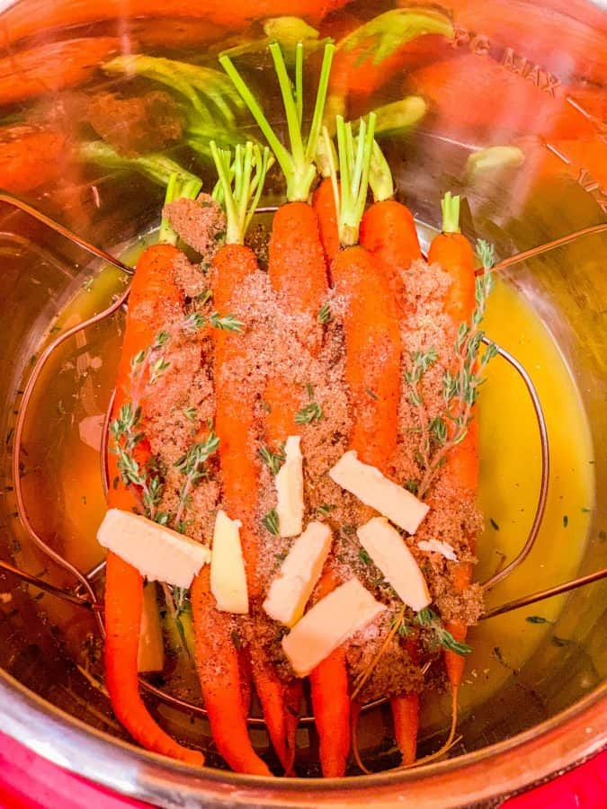 Carrots In The Instant Pot Ingredients