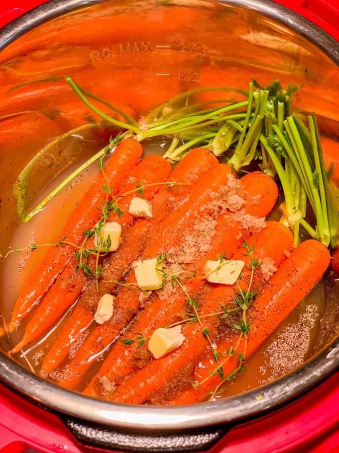 Carrots Instant Pot