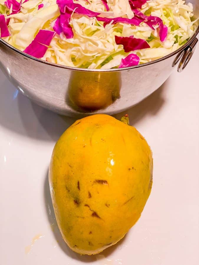 Pineapple Coleslaw Ingredients