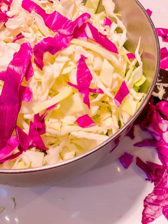 Pineapple Coleslaw Shredded Cabbage