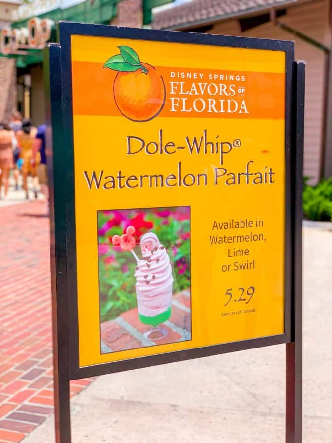 Is Dole Whip Sold At Disney Springs?