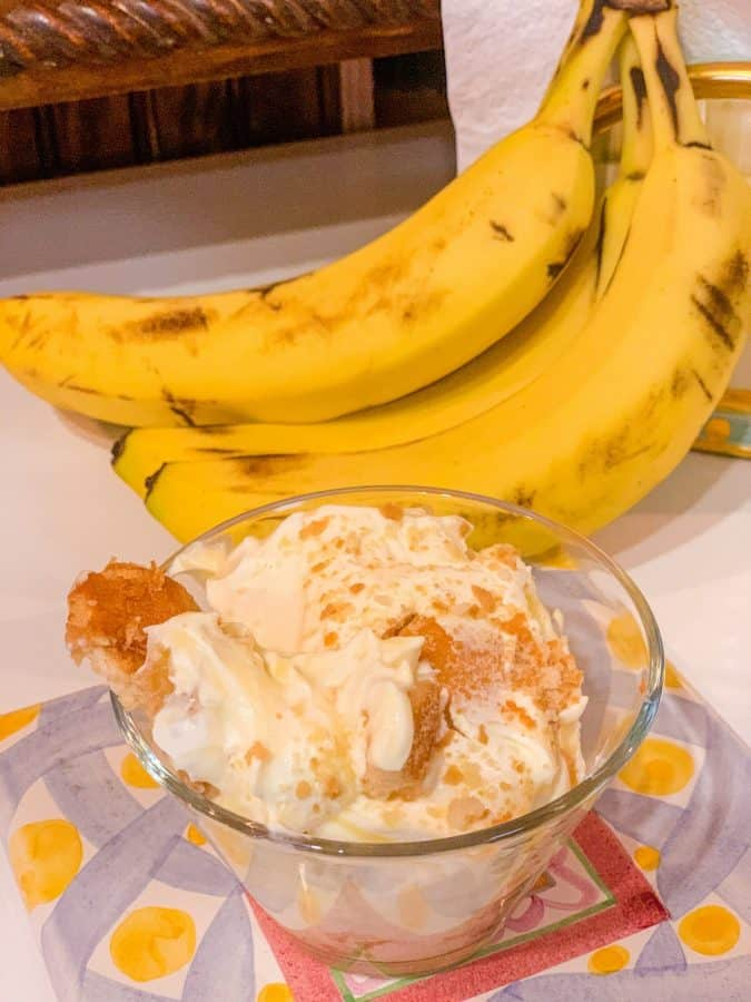 What is Black southern banana pudding?