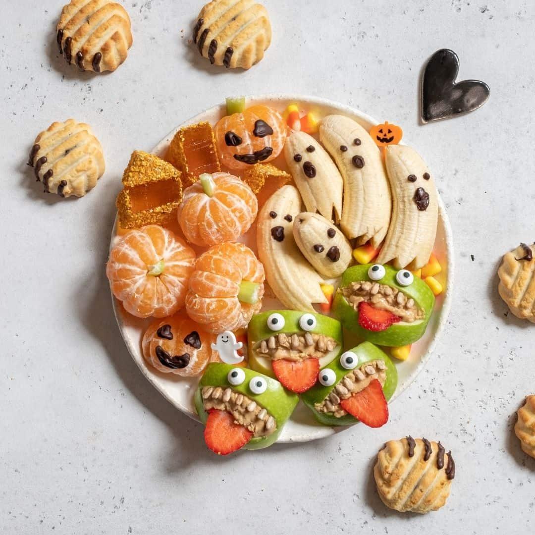 Cute Halloween Charcuterie Board