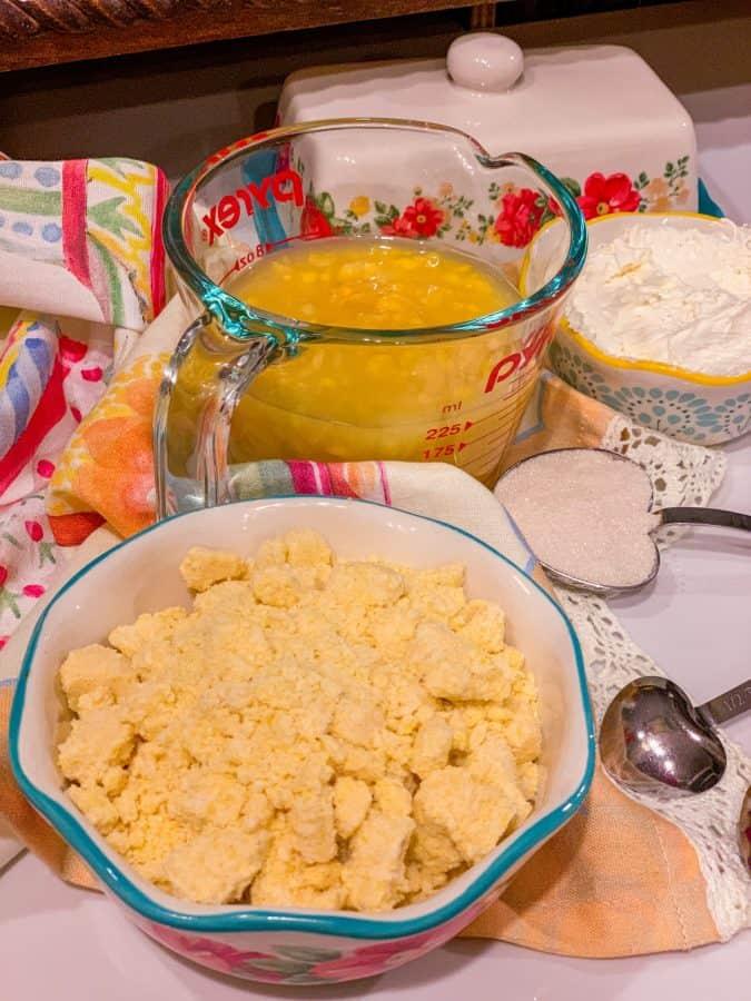 Jiffy Cornbread With Corn Kernels