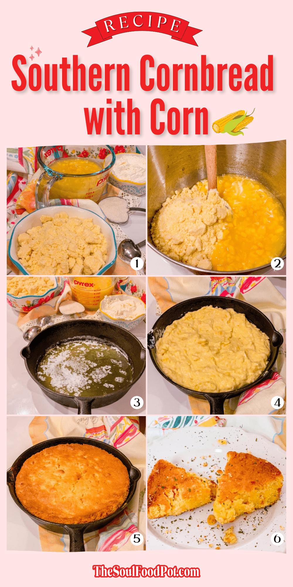Southern Cornbread Recipe With Corn